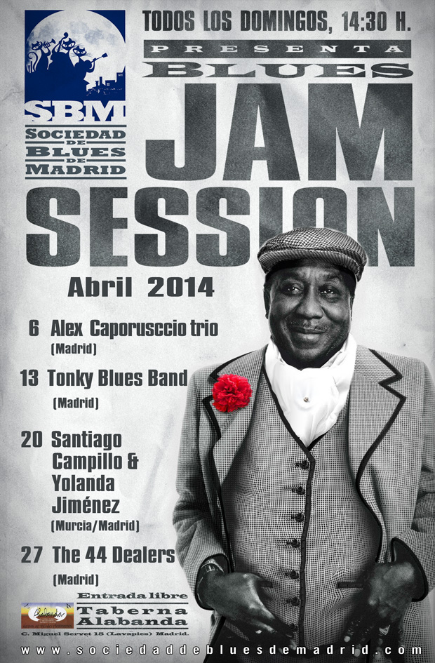 cartel jams Abril 2014