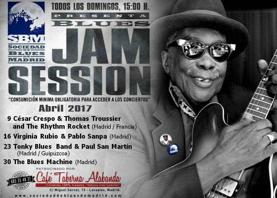 Cartel Jams Abril 2017