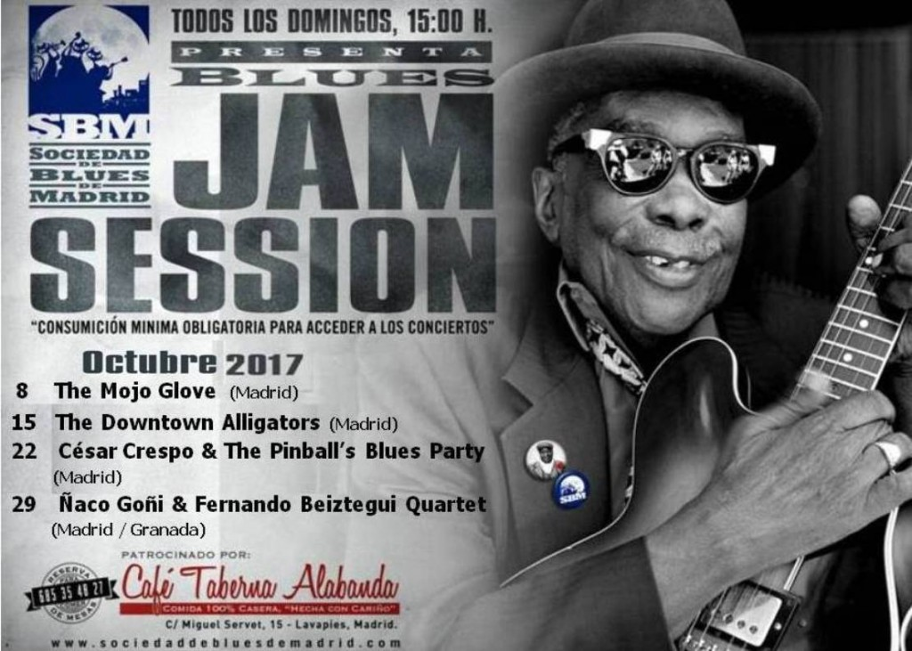 Cartel Jam Octubre 2017