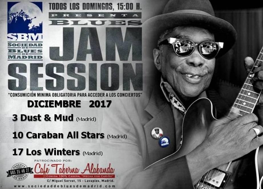 Cartel Jams Diciembre 2017